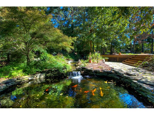 12112 country hills court henrico va 23059 henrico for Koi pool thornton